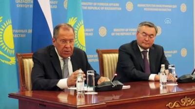 askeri birlik - Lavrov: 'ABD'nin Suriye'deki politikası tüm bölgeyi yakabilir' - NUR SULTAN