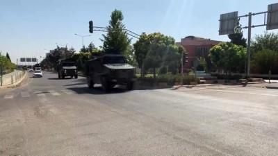 askeri birlik - Sınır birliklerine askeri sevkiyat sürüyor - KİLİS