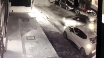 katil zanlisi -  Sokak ortasında dehşet anları güvenlik kamerasında