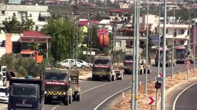 askeri birlik - Suriye sınırına askeri sevkiyat - HATAY