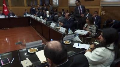 Türkiye-Kuveyt İşbirliği Ortak Komitesi hazırlık toplantısı (1) - ANKARA