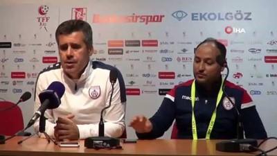 Balıkesirspor - Altınordu maçının ardından