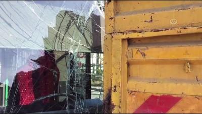 Beykoz'da otobüs kamyonla çarpıştı: 2 yaralı - İSTANBUL