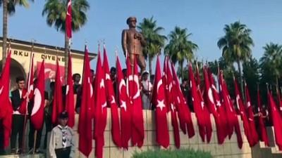 Büyük Önder Atatürk'ü anıyoruz - MERSİN