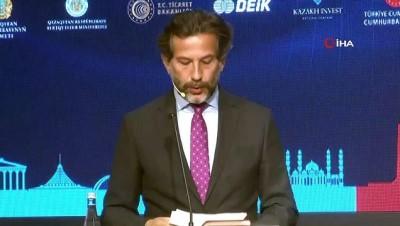 """Fuat Oktay, """"Ülkemiz, 2019'da Kazakistan'dan ham petrol ithalatını yaklaşık 4 kat artırmıştır'"""