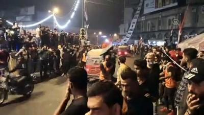 guvenli bolge - Irak'taki gösteriler - BAĞDAT