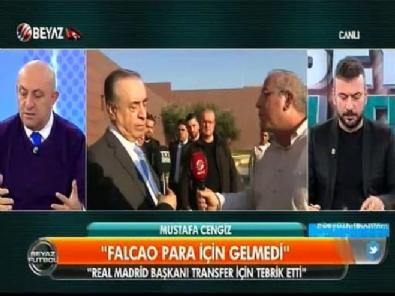 Mustafa Cengiz - Sinan Engin Mustafa Cengiz'in Falcao açıklamasını eleştirdi