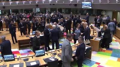 AB Dış İlişkiler Konseyi Toplantısı - BRÜKSEL