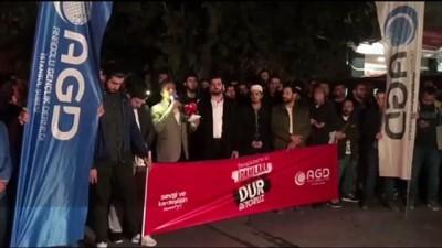 AGD üyeleri Bangladeş'teki idam kararlarını protesto etti - İSTANBUL