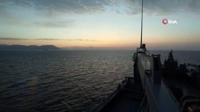 Akdeniz'de dev tatbikat Marmaris'te başladı