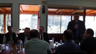 sanayi bolgeleri - AYBÜ Rektörü Aydınlı, STK temsilcileriyle buluştu - ANKARA