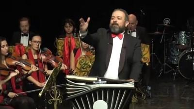 Cumhuriyetin kurucusu Ulu Önder Atatürk senfonik destanla anıldı - TEKİRDAĞ