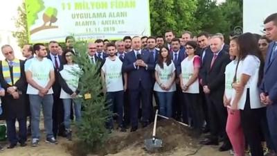 Dışişleri Bakanı Çavuşoğlu, Fidan Dikim Etkinliği'ne katıldı - ANTALYA