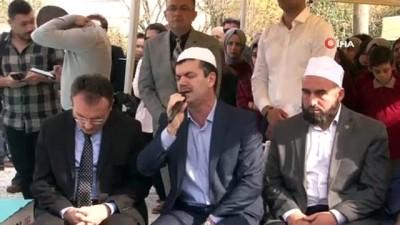 Şehit Kaymakam Safitürk vefatının 3. yıl dönümünde mezarı başında anıldı