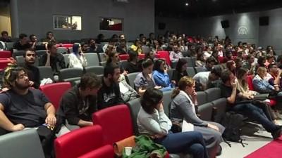 Tyler Weiss sinema öğrencileriyle bir araya geldi - İSTANBUL