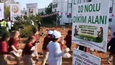 '11 Milyon Ağaç; Bugün Fidan, Yarın Nefes' kampanyası - TRABZON