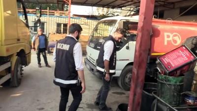 16 ton kaçak karışımlı akaryakıt ele geçirildi - ADANA