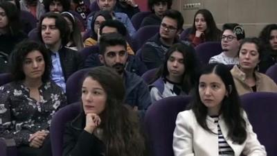 Anayasa Mahkemesi Başkanvekili Gökcan, DEÜ'de konferans verdi - İZMİR