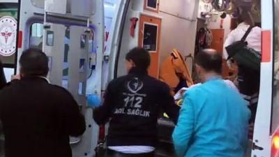 Balkondan düşen çocuk ağır yaralandı - KONYA