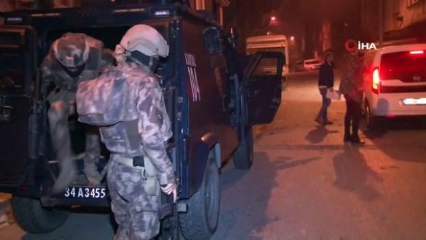 harekat polisi -  Başakşehir'de uyuşturucu operasyonu çok sayıda gözaltı Video