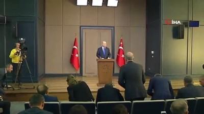 Cumhurbaşkanı Erdoğan: 'Bugüne kadar biz düşündük bundan sonra da onlar düşünsün'