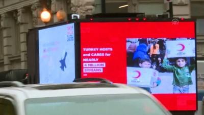 Erdoğan'ın ziyareti öncesi Türkiye'nin DEAŞ ile mücadelesi Washington sokaklarında