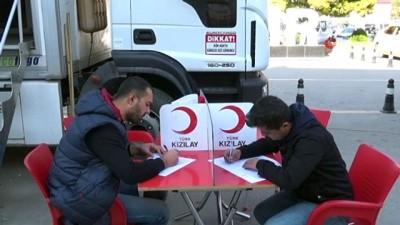 Iğdır'da kan bağışı kampanyası düzenlendi
