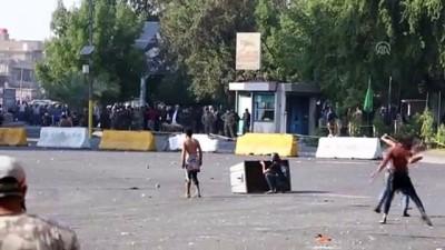 Irak'ta hükümet karşıtı gösteriler - BAĞDAT