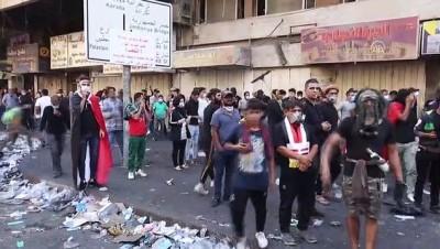 Irak'ta hükümet karşıtı gösteriler devam ediyor (2) - BAĞDAT