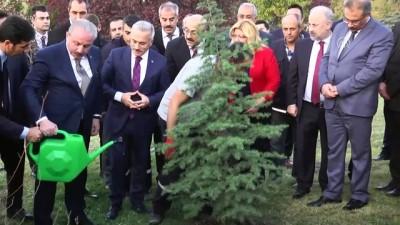 Şentop'tan '11 Milyon Ağaç; Bugün Fidan, Yarın Nefes' kampanyasına destek - TBMM