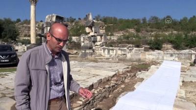 Stratonikeia'da 2 bin 200 yıllık kanalizasyon sistemi gün yüzüne çıkarıldı - MUĞLA
