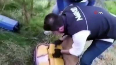 Durdurulan seyir halindeki araçtan 69 kilo 500 gram eroin ele geçirildi: 5 gözaltı İzle