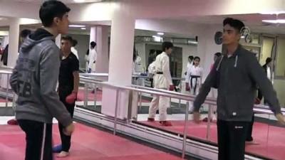 Genç karateciler Diyarbakır'da şampiyonluk için ter dökecek - DİYARBAKIR