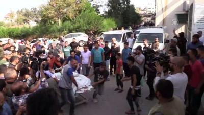 İsrail'in Gazze'ye hava saldırılarında 16 kişi hayatını kaybetti - GAZZE