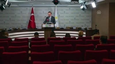 İYİ Parti Sözcüsü Ağıralioğlu: 'Sınırımızın altında bir PKK devletine razı olmayacağız' - ANKARA