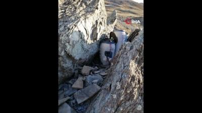 Van'da 18 kilo TNT ve mühimmat ele geçirildi