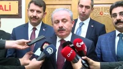 """TBMM Başkanı Şentop: """"Türkiye Cumhurbaşkanımızın liderliğinde önemli bir diplomatik başarı elde etmiştir"""""""