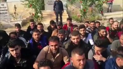 74 düzensiz göçmen yakalandı - MERSİN