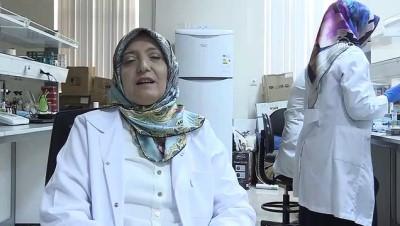 Atatürk Üniversitesinden akademisyenler 'çaşır'dan krem üretti - ERZURUM