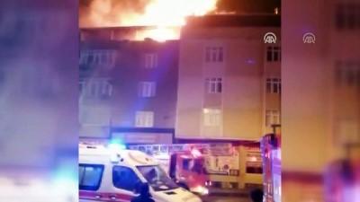 Ev yangını - İSTANBUL