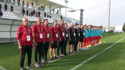 (TEKRAR) 19 Yaş Altı Avrupa Şampiyonası Eleme Turu - Türkiye: 4 - Ermenistan: 1 - ANTALYA