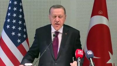 (TEKRAR) Cumhurbaşkanı Erdoğan, Amerika Diyanet Merkezi'ni ziyaret etti - MARYLAND