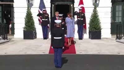 (TEKRAR) Cumhurbaşkanı Erdoğan, Beyaz Saray'da (1) - WASHİNGTON