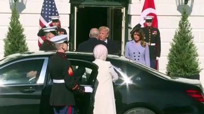 (TEKRAR) Cumhurbaşkanı Erdoğan, Beyaz Saray'da - Detaylar - WASHİNGTON