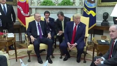 (TEKRAR) Cumhurbaşkanı Erdoğan, Cumhuriyetçi senatörlerle Beyaz Saray'da buluştu - WASHİNGTON