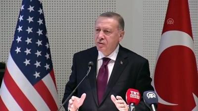 (TEKRAR) Erdoğan: 'ABD'den beklentimiz terör örgütüne verdiği desteği bir an evvel sonlandırmasıdır' - MARYLAND