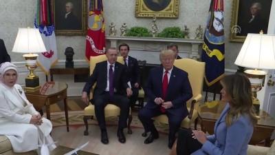 (TEKRAR) Erdoğan-Trump görüşmesi (1) - WASHİNGTON