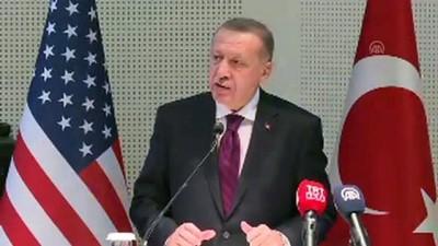 """(TEKRAR) Erdoğan: """"Ülkesine ihanet etmediği sürece, yurtdışında yaşayan her bir kardeşimizi, kökenine, meşrebine, fikrine bakmadan bağrımıza bastık"""" - MARYLAND"""