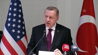 (TEKRAR) Erdoğan: 'Yurt dışında yaşayan hiçbir kardeşimizi gözünü kin ve nefret bürümüş ırkçı fanatiklerin, terör örgütü destekçilerinin insafına terk edemeyiz' - MARYLAND