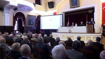 (TEKRAR) Galatasaray Kulübünün divan kurulu toplantısı - İSTANBUL